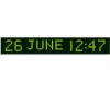 Часы-календарь Wharton 4600E.12.G.S