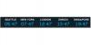 Табло мирового времени Wharton 4740E.05.x.S