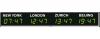 Табло мирового времени Wharton 4740E.100.x.S